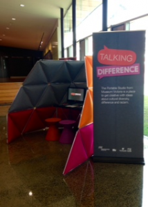 Talking Difference Booth